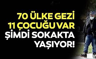 Farklı ülkelerde 11 çocuğu olan 10 dil bilen 58 yaşındaki Aykan Gözeri Bursa'da sokakta yaşıyor