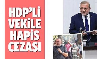 HDP'li Kemal Bülbül hapis cezası