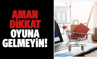İnternetten alışverişte siber dolandırıcılara dikkat edin