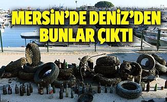 Mersin'de deniz dibi temizliği yapıldı