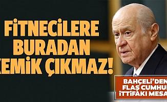 MHP Lideri Bahçeli'den çok net Cumhur İttifakı mesajı: AK Parti ve MHP iki kahraman millet eseridir
