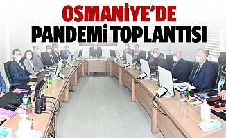 Osmaniye'de pandemi toplantısı