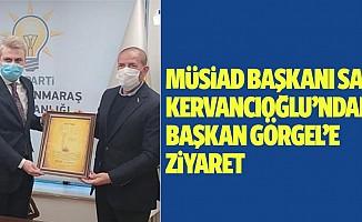 Sami Kervancıoğlu'ndan Başkan Görgel'e Ziyaret