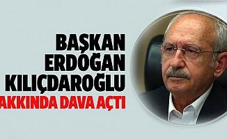 Başkan Erdoğan'dan Kılıçdaroğlu'na tazminat davası!