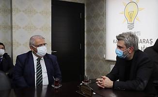 Başkan Mahçiçek'ten Fırat Görgel'e Hayırlı Olsun Ziyareti
