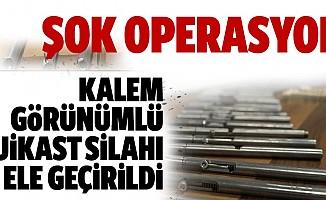 Nefes kesen operasyon: 50 suikast silahı ele geçirildi