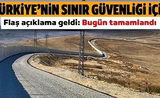 Sınıra 81 kilometrelik güvenlik duvarı!