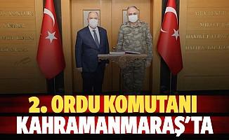 2. Ordu komutanı Gürak Kahramanmaraş'ta