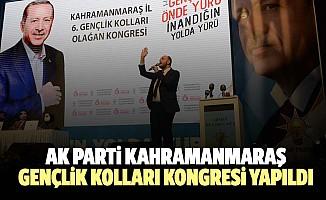 Ak Parti Kahramanmaraş Gençlik Kolları Kongresi Yapıldı