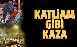 Antalya'da katliam gibi kaza: 3 kişi hayatını kaybetti