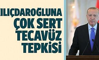 Başkan Erdoğan'dan Kılıçdaroğlu'na tecavüz tepkisi
