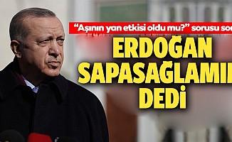 Başkan Erdoğan'dan son dakika 'yan etki' açıklaması: Evelallah...