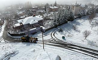 Dulkadiroğlu'nda Karla Mücadele Çalışmaları