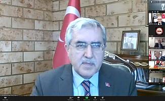 KSÜ rektörü Niyazi Can, Üniversitelerarası Kurul Toplantısına Katıldı