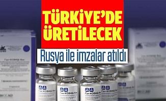 Rusya açıkladı: Sputnik-V aşısının Türkiye'de üretimi için imzalar atıldı! Hem iç pazara hem diğer ülkelere verilecek