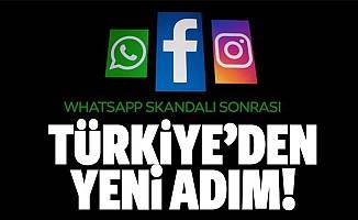 Türkiye'den Instagram ve Facebook adımı