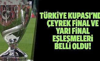 Türkiye kupası'nda çeyrek final ve yarı final eşleşmeleri belli oldu!