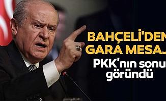 Bahçeli'den Gara Mesajı! PKK'nın sonu göründü