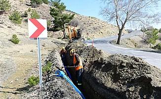 Beşen Mahallesinde İçme Suyu Çalışmaları Devam Ediyor