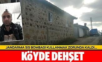Çanakkale'de dehşet! Jandarma sis bombası kullandı!