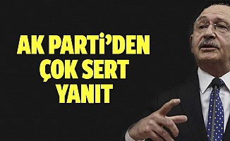 Kılıçdaroğlu'na sert tepki