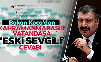 Sağlık Bakanı Fahrettin Koca'nın Kahramanmaraşlı vatandaşla güldüren diyaloğu