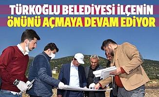 Türkoğlu Belediyesi ilçenin önünü açmaya devam ediyor