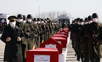11 Şehit İçin Ankara'da Devlet Töreni Düzenlendi