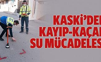 """KASKİ'den Kayıp-Kaçak """"Su"""" Mücadelesi"""