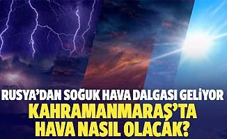 Rusya'dan Soğuk Hava Dalgası Geliyor, Kahramanmaraş'ta Hava Nasıl Olacak?