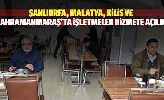 Şanlıurfa, Malatya, Kilis ve Kahramanmaraş'ta İşletmeler Hizmete Açıldı