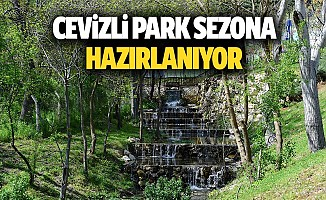 Cevizli park sezona hazırlanıyor