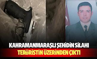 Kahramanmaraşlı Şehidin Silahı Teröristin Üzerinden Çıktı