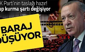 AK Parti'nin Seçim Yasası taslağı hazır!