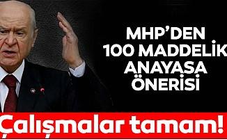 MHP Genel Başkanı Devlet Bahçeli'den flaş yeni anayasa açıklaması: Çalışmalar tamam!