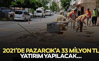 2021'de Pazarcık'a 33 milyon TL yatırım yapılacak