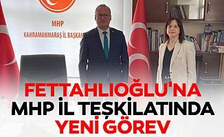 Fettahlıoğlu'na MHP İl Teşkilatında Yeni Görev