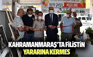 Kahramanmaraş'ta Filistin yararına kermes