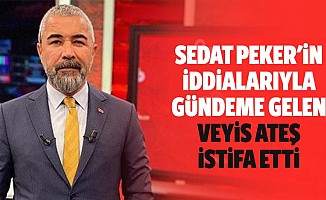 Sedat Peker'in iddialarıyla gündeme gelen Veysi Ateş istifa etti