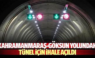 Kahramanmaraş-Göksun Yolundaki Tünel İçin İhale Açıldı