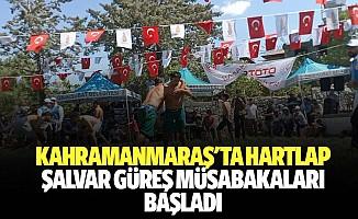 Kahramanmaraş'ta Hartlap Şalvar Güreş Müsabakaları Başladı