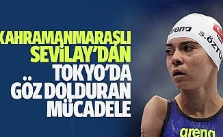 Kahramanmaraşlı Sevilay'dan Tokyo'da Göz Dolduran Mücadele