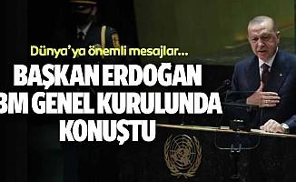 Başkan Erdoğan BM Genel Kurulunda Konuştu