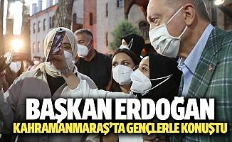 Başkan Erdoğan Kahramanmaraş'ta Gençlerle Konuştu