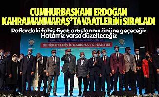 Cumhurbaşkanı Erdoğan Kahramanmaraş'ta Vaatlerini Sıraladı: Raflardaki Fahiş Fiyat Artışlarının Önüne Geçeceğiz, Hatamız Varsa Düzelteceğiz