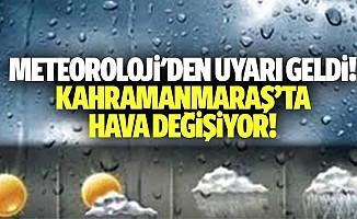 Kahramanmaraş için yağış uyarısı