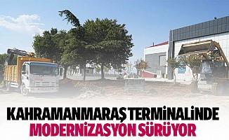 Kahramanmaraş Terminalinde Modernizasyon Sürüyor