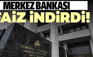 Merkez Bankası, politika faizini indirdi