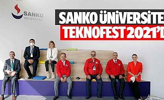 SANKO Üniversitesi TEKNOFEST 2021'de