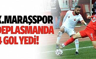 Kahramanmaraşspor deplasmanda 4 gol yedi!